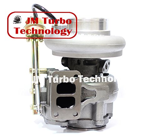 JM Turbo For Dodge Ram Turbo Diesel Super Drag 6ctaa Turbocharger Hx40w T3 Flange 3538215 Compatible Turbo New