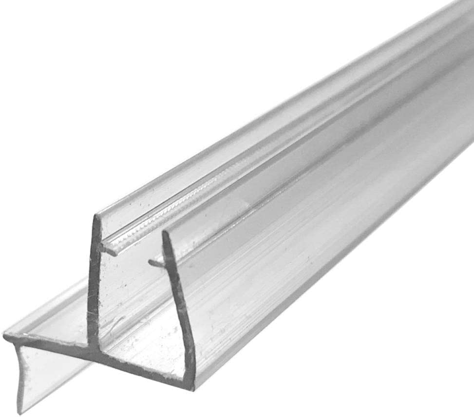 Universal Clear Shower Door Bottom Sweep Rail for with Drip 16 Sales sale OFFicial store 3