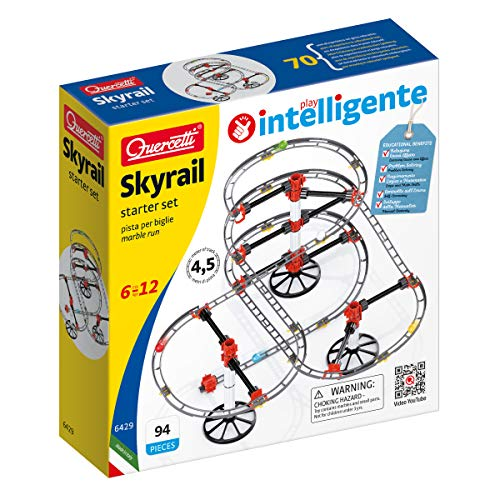 Quercetti - Skyrail Starter Set - Kugelbahn