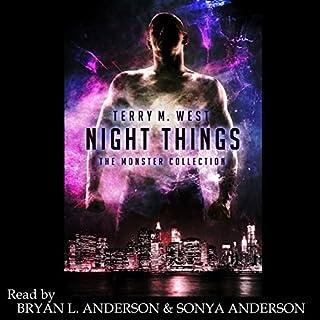 Night Things audiobook cover art
