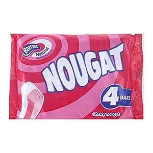 barratt nougat 140g (12 packs of 4, total 48) Barratt Nougat 140G (12 Packs of 4, Total 48) 51ZVUGw1AmL