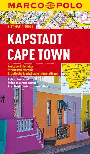 MARCO POLO Cityplan Kapstadt 1:15 000: Stadsplattegrond 1:15 000 (MARCO POLO Citypläne)