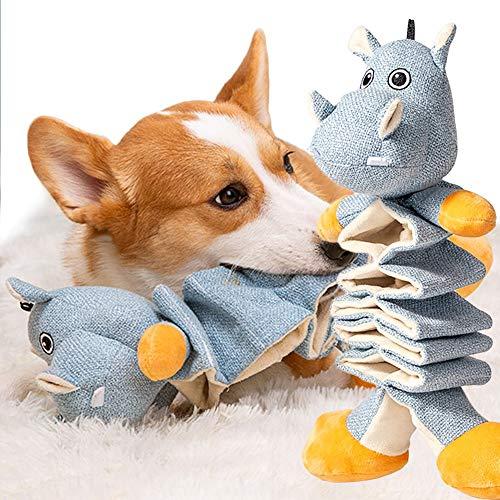 BACIVIC Hundespielzeug Hund Quietschende Kauen Spielzeug Hund Spielzeug Plüsch mit Crinkle Paper Tier Hundespielzeug für Kleine Medium Hund