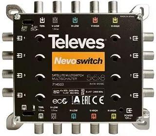 Televes MS58C Multischalter'NEVO' schwarz