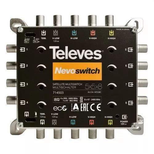 Televes MS58C Multischalter