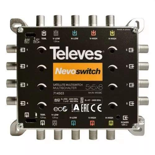 Televes MS58C Multischalter