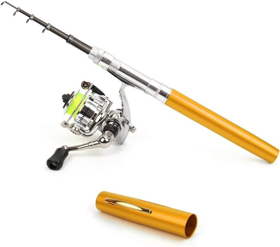 Outamateur Pen Fishing Rod Reel Pocket Telescopic Ranking TOP16 Fixed price for sale Set Combo Mini