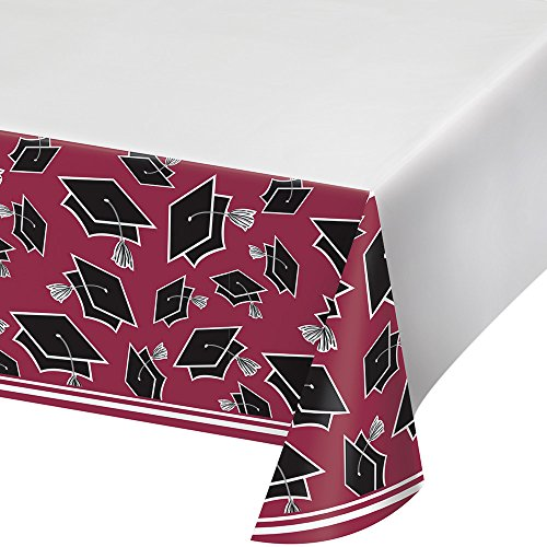 Creative Converting Party Supplies, 54 x 102, Burgundy