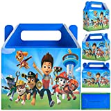Enjoy Holiday 1981 Replacement for Paw Dog Patrol Birthday Party Supplies Favors Decorations, (16 Pcs) Gift Bags, Goodie Bags for Theme Decor, Gift for Boys Girls Kids School Supplies