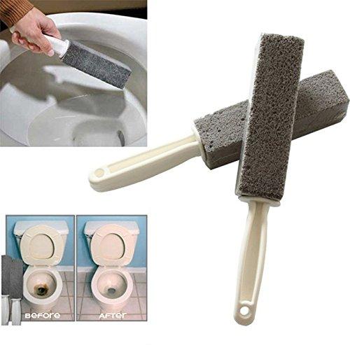 CLOCK Matériel Brosse 2 Pcs Naturel Pierre Ponce Pierre Toilette Ustensiles De Cuisine Heavy Duty Nettoyant Brosse De Nettoyage Carrelage Gravier