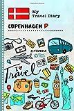 Copenhagen Travel Diary: Kids Guided Journey Log Book 6x9 - Record Tracker Book For Writing, Sketching, Gratitude Prompt - Vacation Activities Memories Keepsake Journal - Girls Boys Traveling Notebook