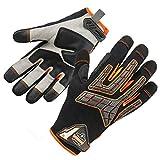 ProFlex 760 Work Glove, Knuckle Protection, Impact-Reducing Palm, Medium