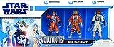 Hasbro 'Collector Set Rebel Pilota Legacy I con dorovio Bold, WES Janson e Ten Numb–Star Wars The Legacy Collection