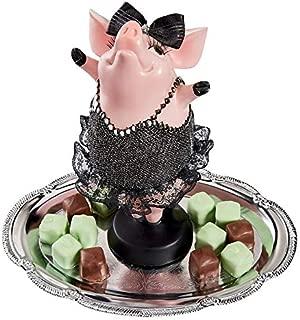 Design Toscano Hog Heaven Twinkle Toe Pig Statue, Full Color