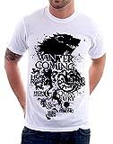 t-Shirt Game of Thrones Stark Lannister Targaryen Il Trono di Spade S M L XL XXL Maglietta by tshirteria