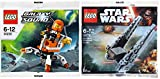 Star Wars Lego Kylo Ren's Command Shuttle 30279 & Lego Galaxy Squad Mini Mech Polybag 30230 Space Edition Building Set