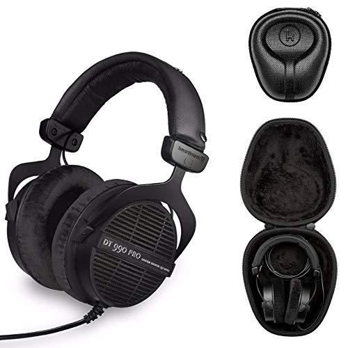Beyerdynamic DT 990 PRO Écouteurs intra-auriculaires 250 OHM Limited Edition - Black w/ Case