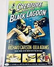 RICOU BROWNING SIGNED 12X18 PHOTO MINI POSTER CREATURE FROM THE BLACK LAGOON JSA WPP274143 AUTOGRAPH PROOF COA AUTOGRAPHED UNIVERSAL MONSTER
