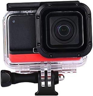 حقيبة واقية واقية من الماء 60 متر لكاميرا إنستا360 ون أر 4K IPX8 مقاومة للماء لـ إنستا 360 واحد R إكسسوارات الكاميرا مشابك...