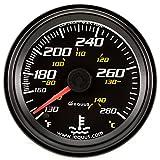 Equus 6242 2' Mechanical Water Temperature Gauge, Black