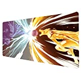 Ruifengsheng Large Gaming Mouse Pad, Natural Rubber Plus Ultra Smooth Surface Gaming Mouse Pad-Water Resistant & Anti-Slip Mice Mat for Gamer, Office, Home (9040 j-067)