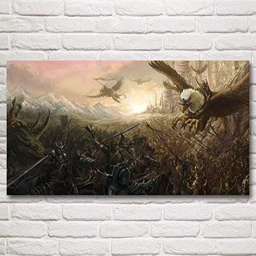 HHBACE-Póster Battlefield Soldier Military Arma Videojuego Canvas Poster Home 11x20 20x36 24x43 30x54 Pulgadas 24x43 007