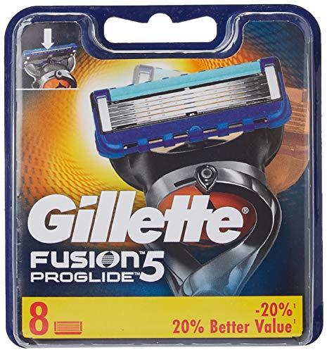 Gillette Fusion ProGlide mesjes voor herenscheerapparaat, 8 messen