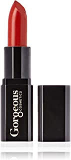 Gorgeous Cosmetics Matte Finish Lipstick with Vitamin E, Nevada, 4g