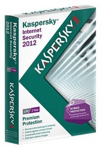 KASPERSKY KIS INT SECURITY 5 USER 1YR DVD 2012