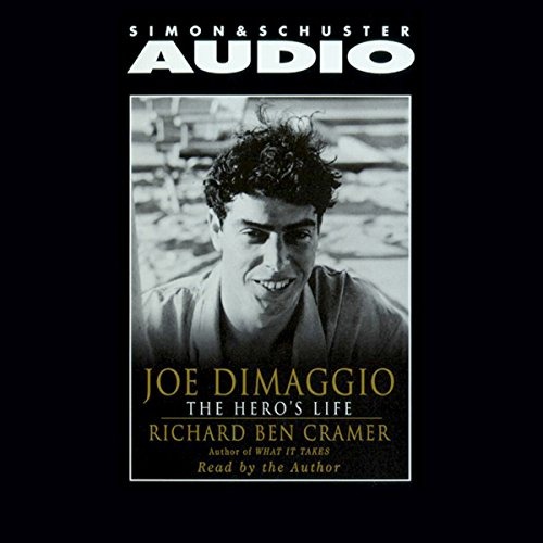 Joe DiMaggio audiobook cover art