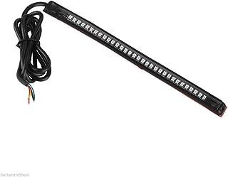 Garneck Luz de LED para carro de motocicleta, luz de LED universal, placa de licença de carro, parada de freio, direção à ...