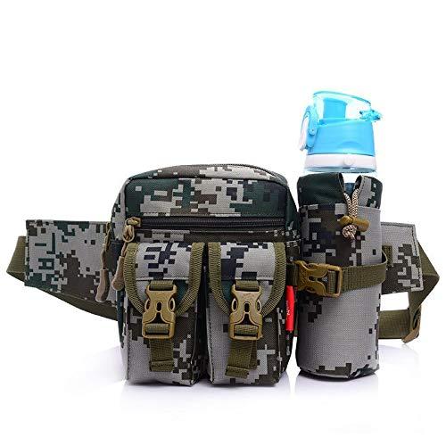 Tasche Esterne for Veri Fan Tattici in Nylon dell'Esercito Tasche Esterne mimetiche Russe Tasche Sportive for Uomo e Donna (Color : Tricolor Camouflage, Size : L)
