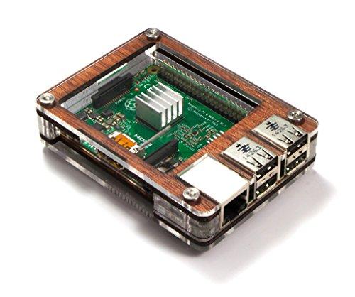 C4 Labs Zebra Case - Raspberry Pi 3 B+ und 2B (Holz)