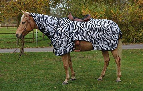 Busse Ausreitdecke MONTANA ZEBRA, 115, zebra