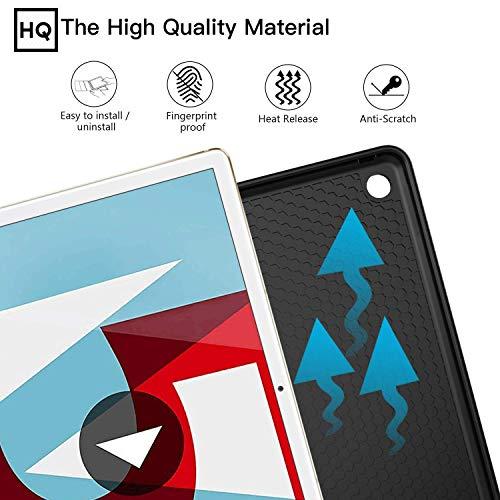 ZtotopCase Huawei M5 10.8 Hülle,Ultradünne Smart Cover Schutzhülle mit Stifthalter, Automatischem Schlaf/Aufwach, Kompatibel für Huawei MediaPad M5 /M5 Pro 10.8 Zoll 2018,Schwarz - 3