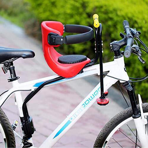 UIGJIOG Silla Bebe Bicicleta Delantera,Asiento de Bicicleta para niños, Asiento de Bicicleta para niños, Asiento de Seguridad,C