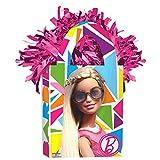 Barbie Sparkle Mini Tote Balloon Weight Birthday Party Decoration (1 Piece), Multi Color, 5.7 oz..
