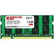 Komputerbay 1GB DDR2 667MHz PC2-5300 PC2-5400 (200 PIN) SODIMM Laptop-Speicher