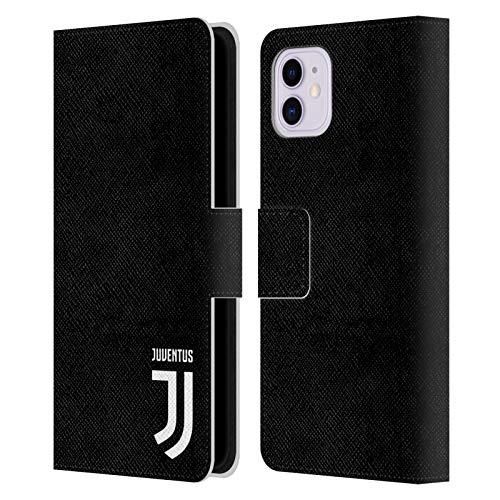 Head Case Designs Offizielle Juventus Football Club Klar Lifestyle 2 Leder Brieftaschen Handyhülle Hülle Huelle kompatibel mit Apple iPhone 11
