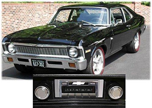Custom Autosound Stereo compatible with 1968-1976 Chevy Nova, USA-630 II High Power 300 watt AM FM Car Stereo/Radio