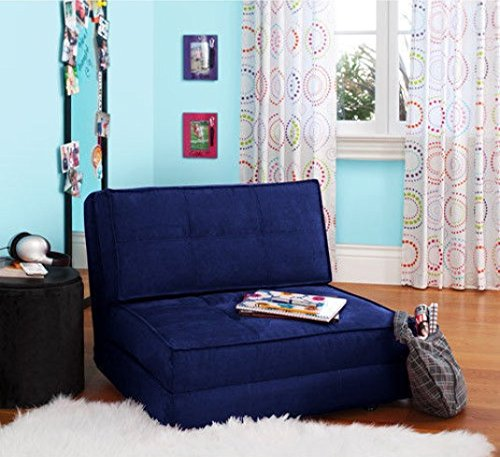 Your Zone - Flip Chair Convertible Sleeper Dorm...