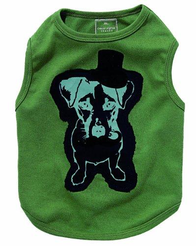 Bobby Supreme Dog t-Shirt, Kaki, Colore: Nero