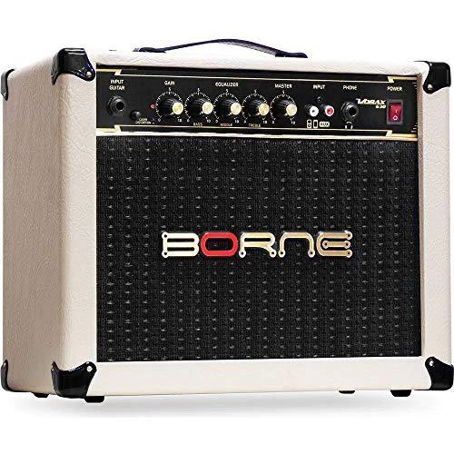 Amplificador Cubo para Guitarra Vorax 630 25W Creme Borne