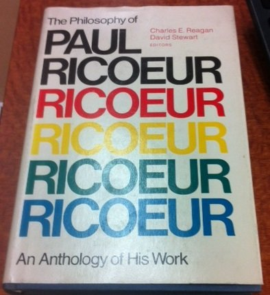 The Philosophy of Paul Ricoeur (Library of Living Philosophers)