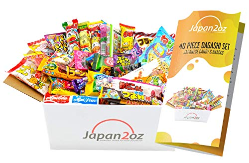 Dagashi Box Japanese Candy & Snack Assortment x40 Mini DIY Kit