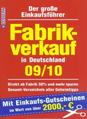 Fabrikverkauf in Deutschland