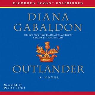 Outlander audiobook cover art