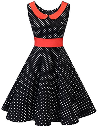 Dresstells jaren 50 Vintage Retro Rockabilly Cocktail Petticoat Jurken