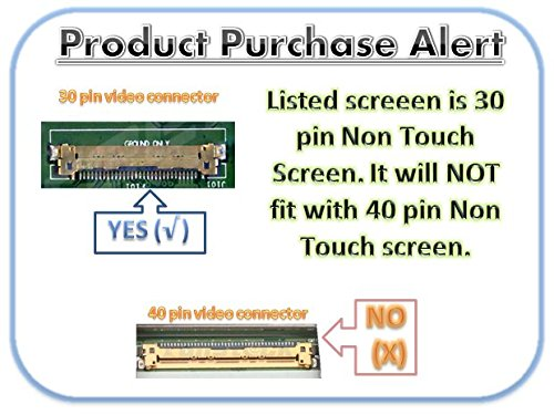 BOE NT156WHM-N12 Replacement Screen for Laptop LED HD Glossy