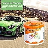 wapern Deodorante per Auto, Profumo Solido in Scatola, Aromaterapia Deodorante per Auto, Profumo di Frutta, per Auto Deodorante per Bagno